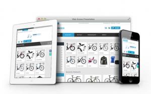 Responsiver Online-Shop