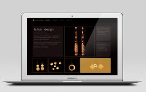 Webdesign für Le Torri Design