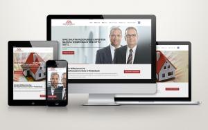 One-Page-Webdesign für Nürnberger Baufinanzierer