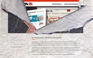 Webseiten Relaunch werk26